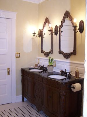 Victorian Bathrooms | Traditional Victorian Bathroom - Bathroom Designs - Decorating Ideas ...