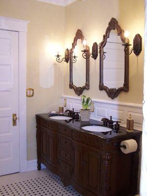 Victorian Bathrooms | Traditional Victorian Bathroom - Bathroom Designs - Decorating Ideas ...