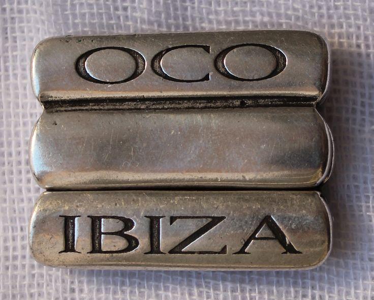OCO ibiza clasp. Every bracelet comes with the original OCO Ibiza clasp!