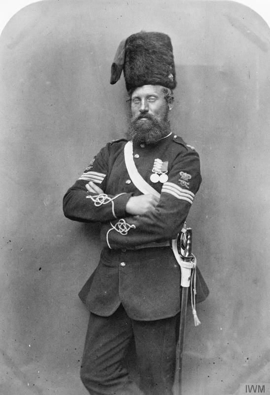 Crimean War veteran Sergeant Robert Glasgow, Royal Artillery.    © IWM (Q 71635)