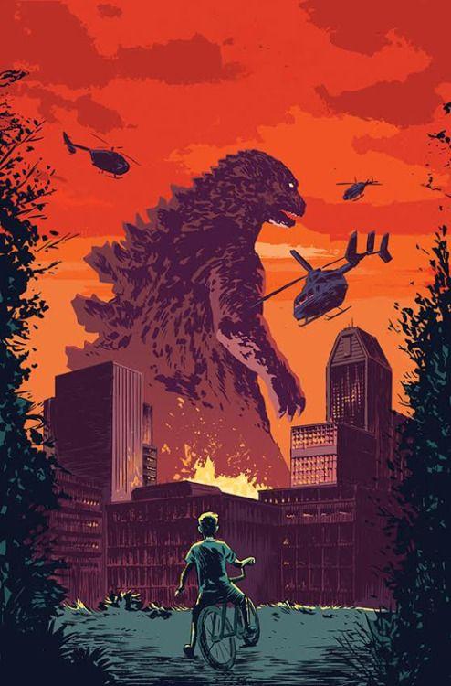 Godzilla: Oblivion #4 - Michael Walsh
