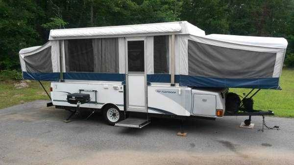 2005 Fleetwood Valor Pop Up Tent Camper Popup 3800 Ri
