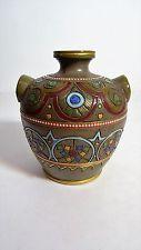 Sarreguemines - Ancien Vase à décor Iznik - ceramic vase
