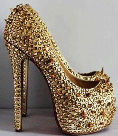 7 best ♥ Spike ♥ Heels ♥ images on Pinterest   Shoes heels ...