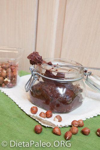 Receta de Nutella casera sin azucar Paleo - Dieta Paleo