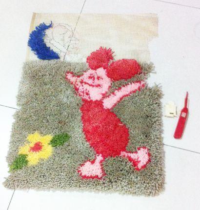 Karpet Benang Piglet