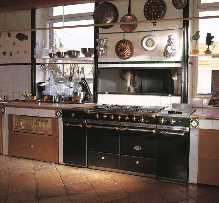 Fourneaux De France Lacanche #14: The Big Brands In French Cooking Ranges, U0027chateau Styleu0027, Are Lacanche And  Lacornue. Both Breathtaking, Majestic And Built To Impress.