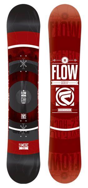 Flow Merc Directional Rocker Snowboard 2015The Merc is a great starter to…