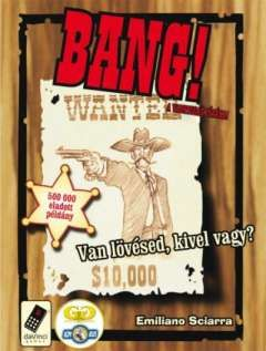 Bang! (magyar) társasjáték - Szellemlovas társasjáték webshop