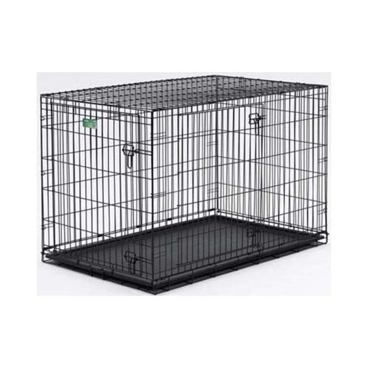 Midwest Icrate Double Door Folding Metal Dog Crate 48 Inches By 30 Inches By 33 Inches Dog Crate Dog Crate Cover Pet Crate