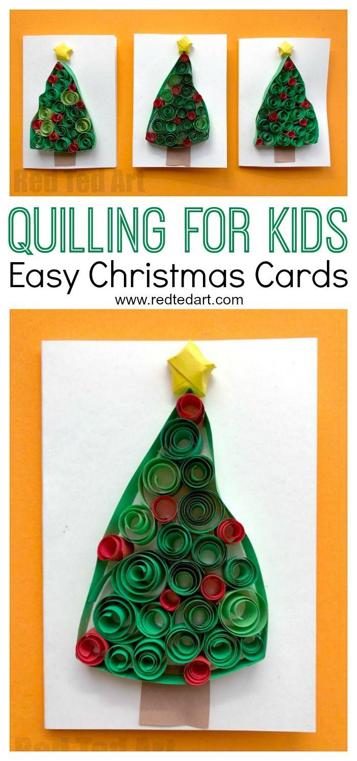 De 2711 b sta latest from red ted art bilderna p pinterest for Christmas tree cards to make