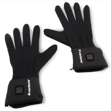 The Heated Glove Liners - Hammacher Schlemmer