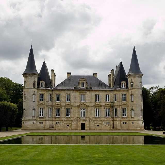 The château pichon longueville in pauillac france photographed by in the médoc for our november issue