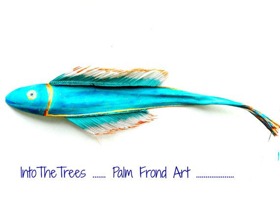 99 Best Palm Frond Art Images On Pinterest