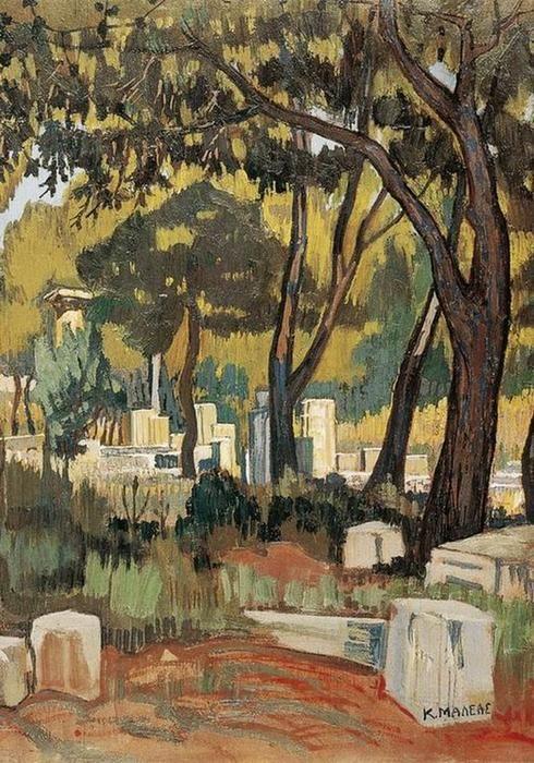 'Olympia' von Constantine Maleas (1879-1928, Turkey)