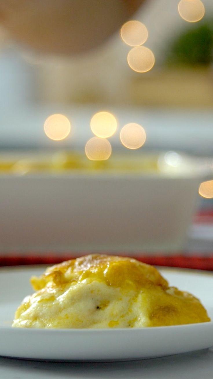 Reaproveite as sobras de peru da ceia de Natal e faça esse prático e saboroso escondidinho!