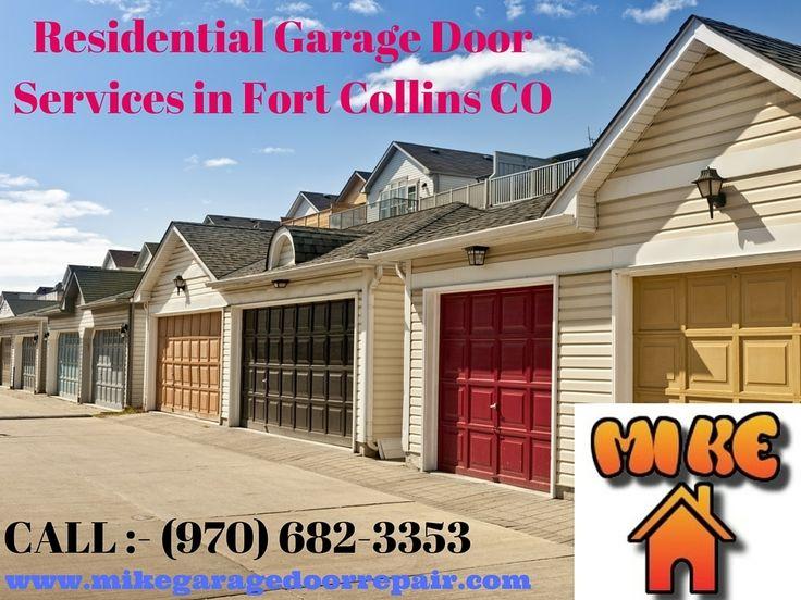 Residential Garage Door Services in Fort Collins CO & 86 best Garage Door Repair Fort Collins! images on Pinterest ... pezcame.com