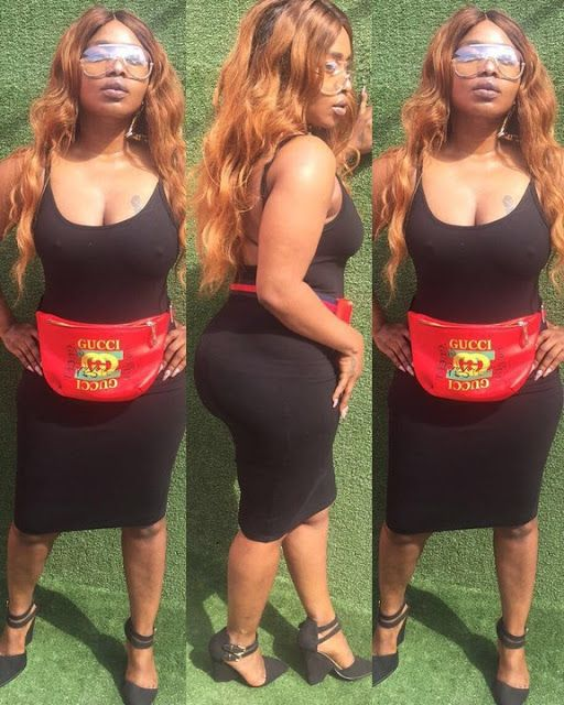Nollywood curvy actress, Halima Abubakar is back and better.     The actress stepped out to the dentist flaunting her thicker body and ...