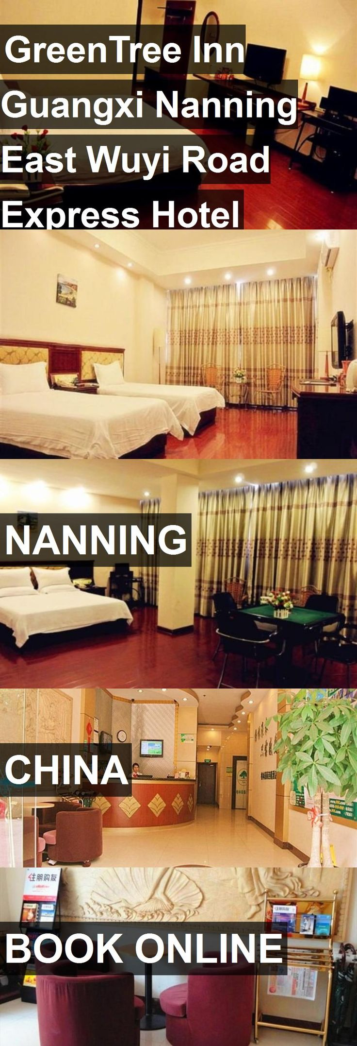 GreenTree Inn Guangxi Nanning East Wuyi Road Express Hotel in Nanning, China. For more information, photos, reviews and best prices please follow the link. #China #Nanning #travel #vacation #hotel