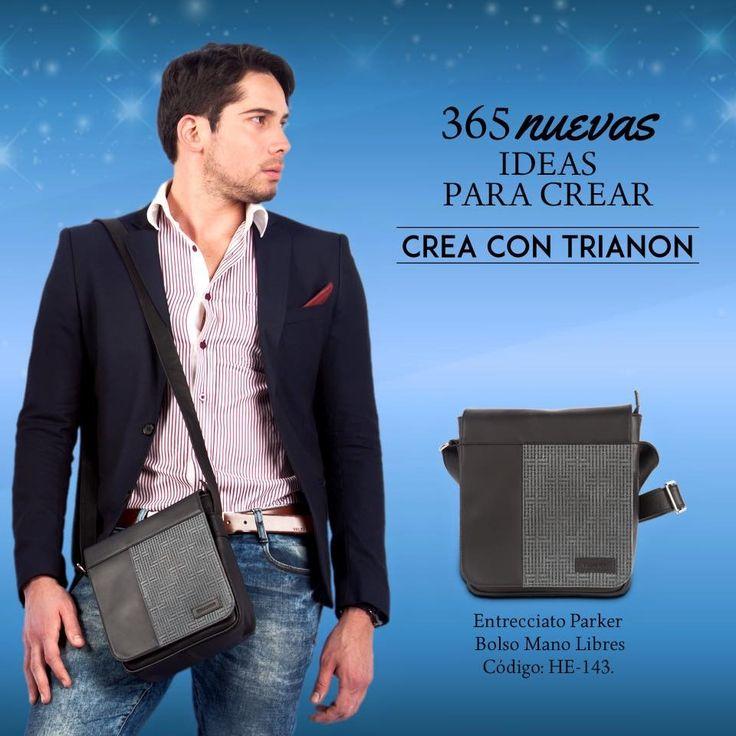 La fuerza del Toro te acompaña a todas partes, este bolso lo puedes usar para el trabajo o la universidad, encuéntralo en www.trianon.com.co  #EstiloTrianon