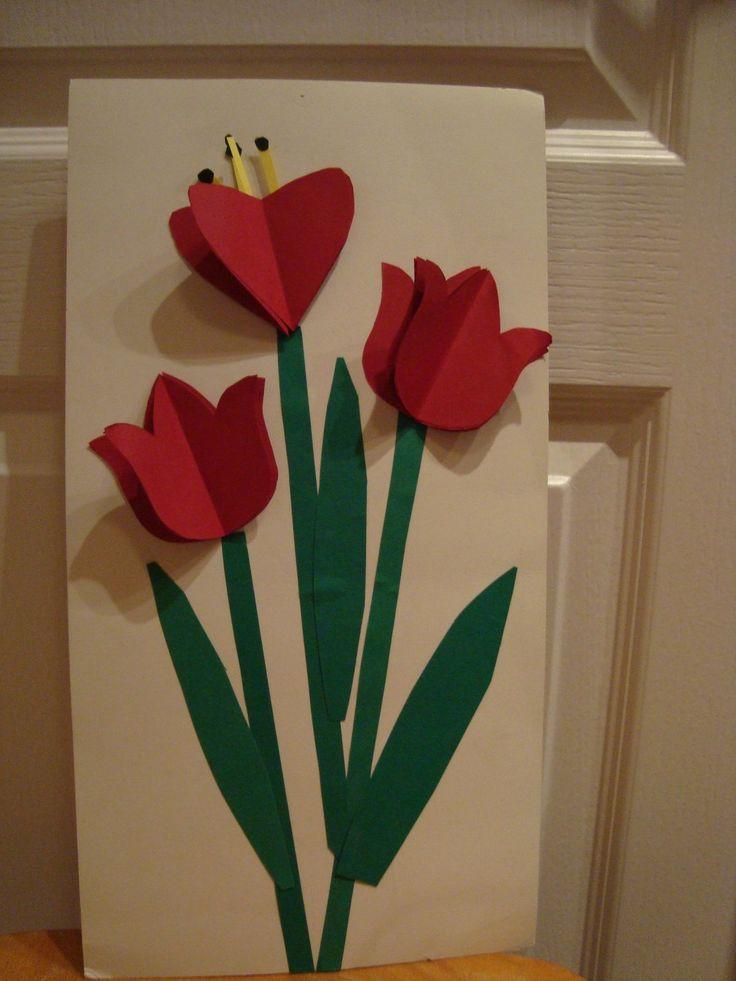 tulipes fête des Mères
