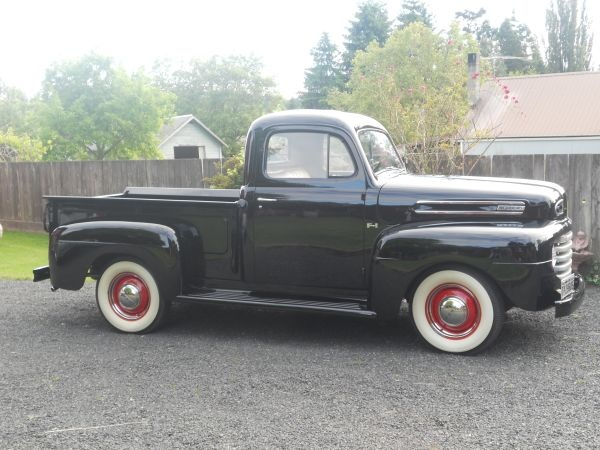 1949 ford pickup my daddy had one of these this old. Black Bedroom Furniture Sets. Home Design Ideas