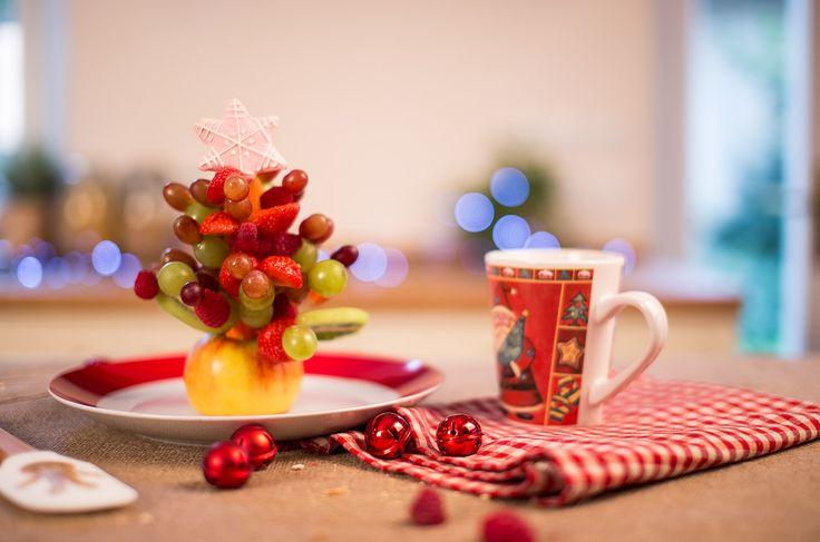Vianočný ovocný stromček | Hravo azdravo | Tesco.sk