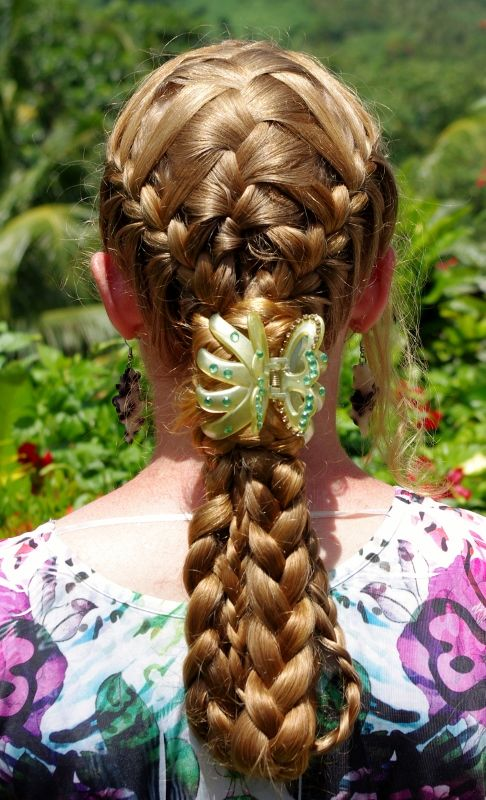 How Long Does It Take To Weave A Basket : Braids hairstyles for super long hair basket weave