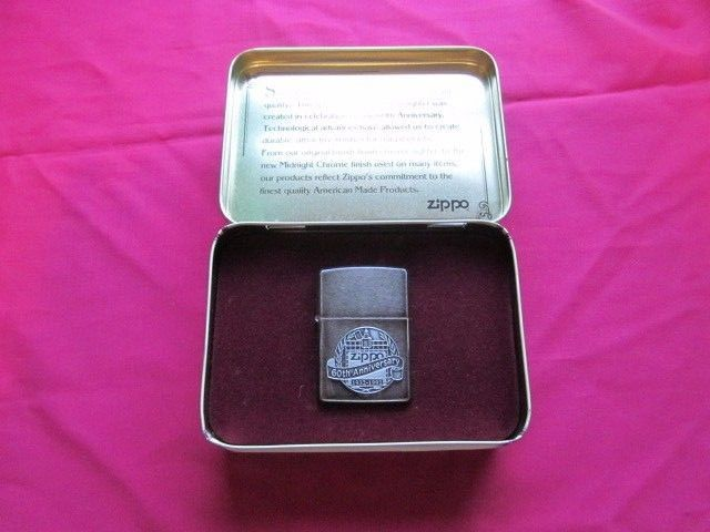 VINTAGE ZIPPO 60th ANNIVERSARY 1932-1992 LIMITED EDITION LIGHTER ~ NEW IN BOX