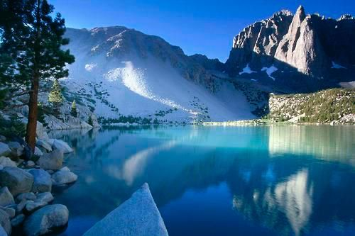 Turquoise Lake, The Sierra Nevada, CA
