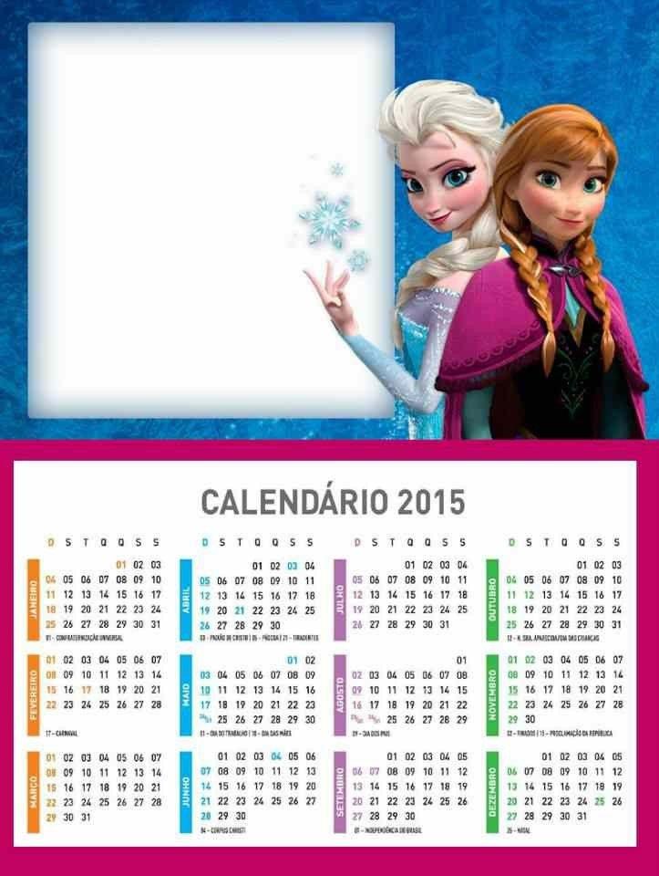 Homemade Calendar Template : Homemade frozen printable monthly calendar templates ideas