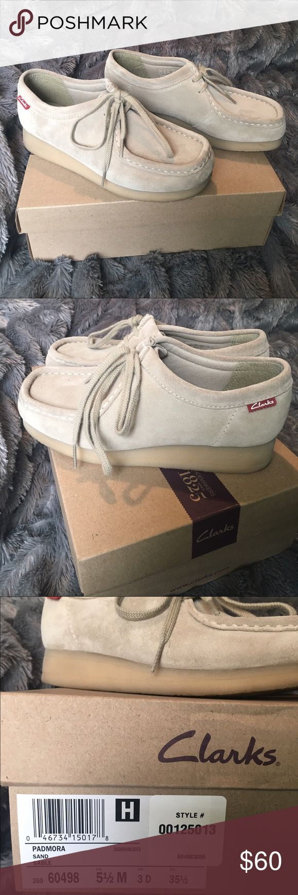 Clarks Wallabees Worn once  Clarks Shoes Moccasins
