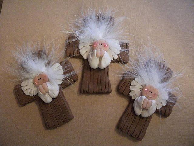 *CLAY ~ angels by claykeepsakes, via Flickr