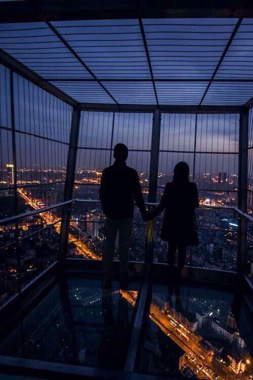 Watch the sleepy city w/ the one I love