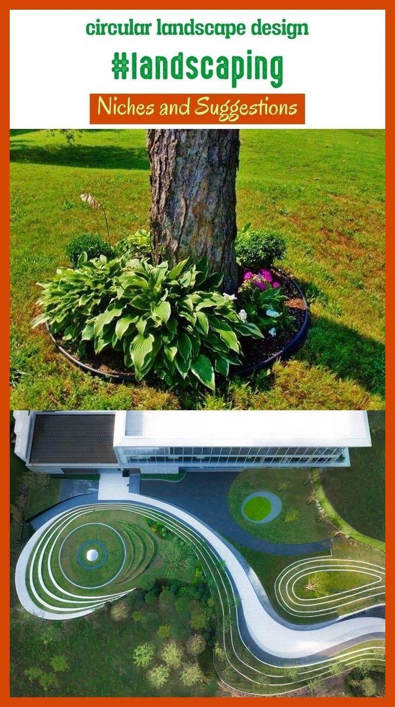 Circular landscape design #landscaping #seo #blog #niches ...
