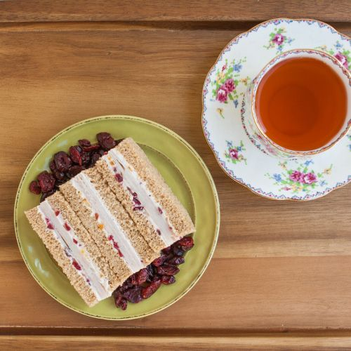 Turkey Cranberry Tea Sandwiches | Thirsty for Tea