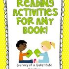 This 50 page pack is full of activities to go with any book. Perfect for when you have a substitute teacher! Pages come with lines and also dotted ...