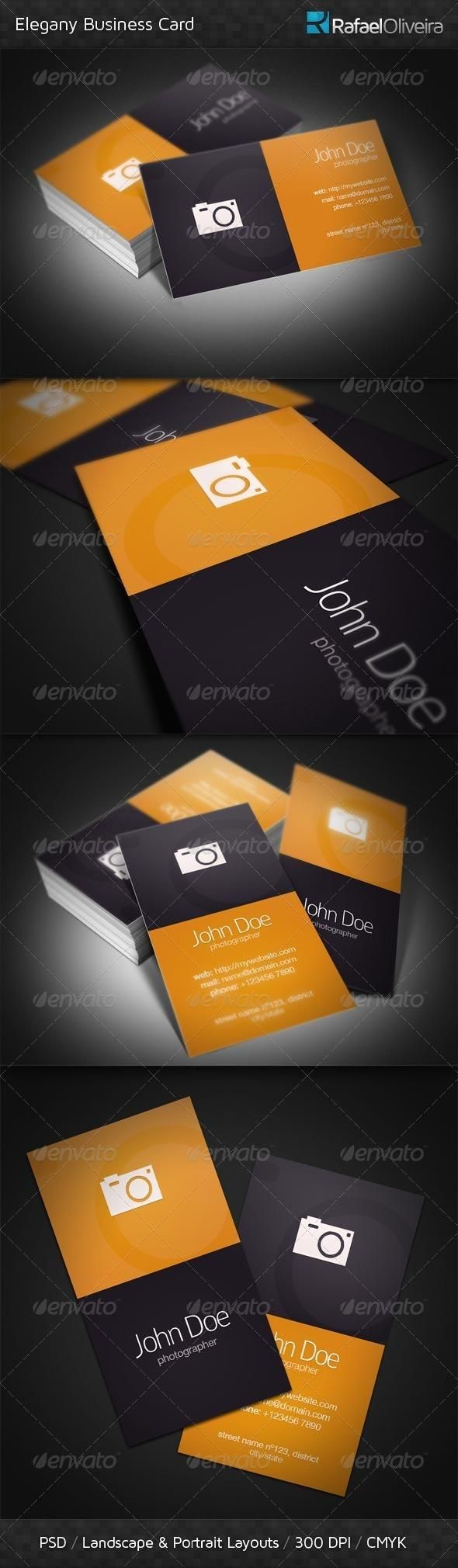The 1661 best business card design images on pinterest business elegany business card reheart Images