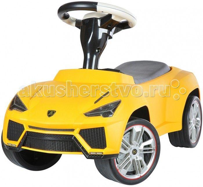 Каталка Rastar 16 Lamborghini Urus  Каталка Rastar 16 Lamborghini Urus создана для маленького гонщика. Машина выглядит совсем как настоящий автомобиль благодаря тому, что выполнена по образу знаменитого Lamborghini.   Каталка выполнена с высокой детализацией кузова и подгона всех деталей. Окрашена каталка стильной матовой краской. Колеса выполнены из прорезиненного пластика, что улучшает комфорт при поездке и снижает шум.   Каталка приведет в восторг малыша за ее отличный дизайн и простой…