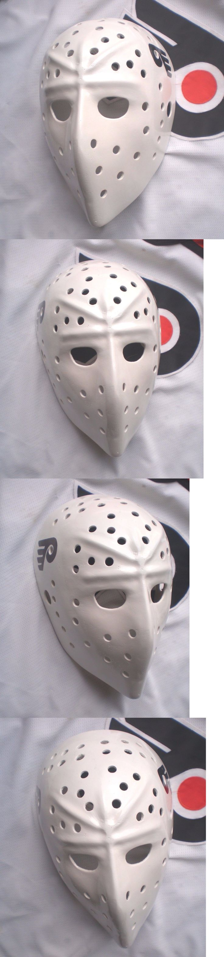 Face Masks 79762: Bernie Parent Philadelphia Flyers Fiberglass Nhl Hockey Goalie Mask Stunning! -> BUY IT NOW ONLY: $189.99 on eBay!