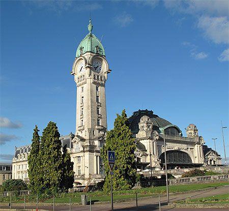 """Gare de """"Limoges Bénédictins"""""""