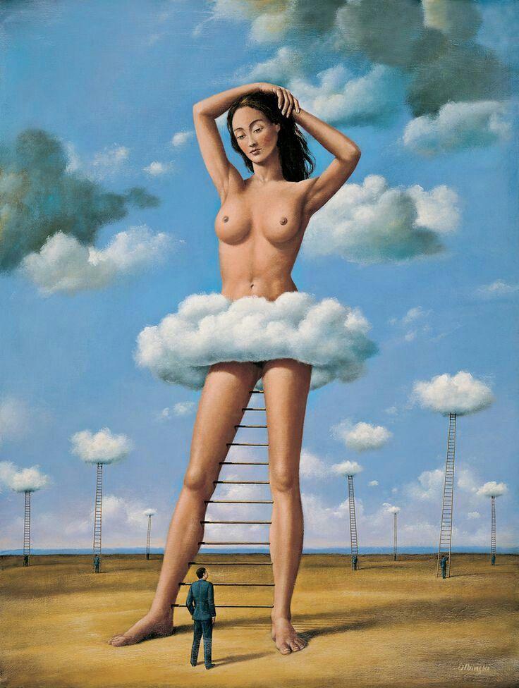 Rafal Olbinski | Magritte