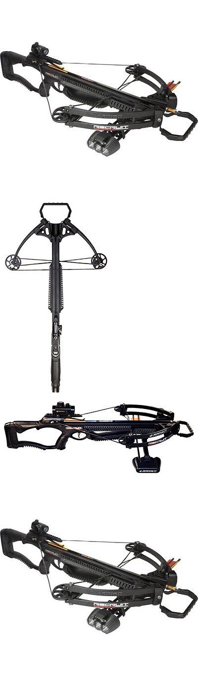 Other Bows 181295: Barnett Recruit Comlb Crossbow Package Black Archery Bow, New -> BUY IT NOW ONLY: $190.75 on eBay!