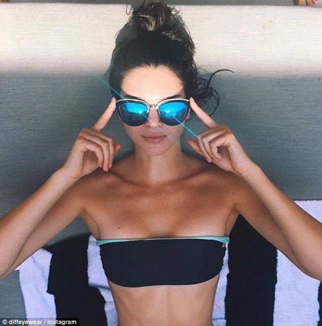 Make a DIFFerence with a pair of Kendall's cateye sunglasses #DailyMail Click 'Visit' to buy now