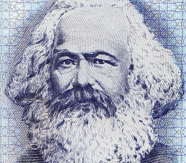 """On Thursday, just as the Dow Jones closed at an all-time high, a first edition of Marx's """"Das Kapital"""" sold for $40,000."""