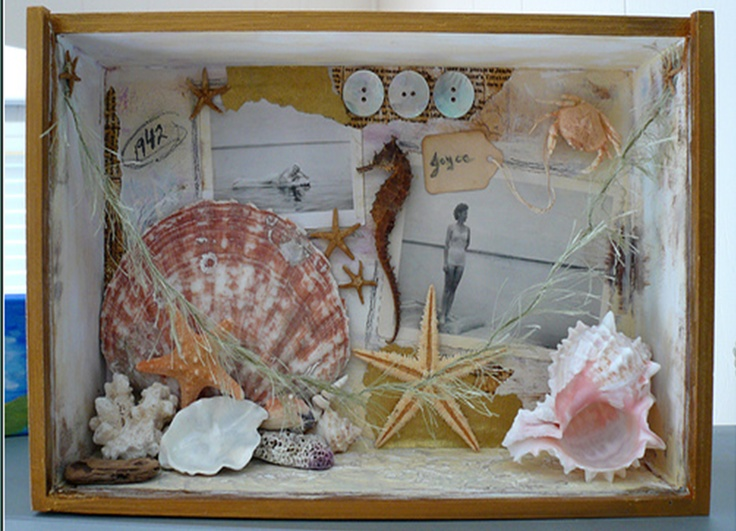 462 Best Shadow Box Images On Pinterest Lockers Altered