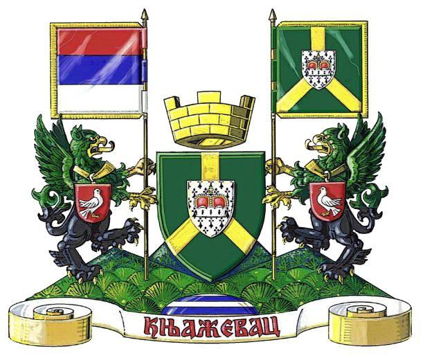 Coat of arms of Knjaževac