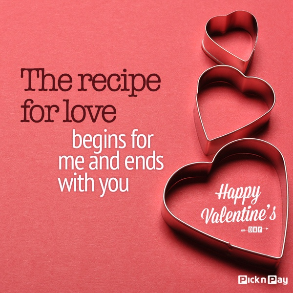 Give a gift from the #heart. #picknpay #valentine #love #lovequotes #quotes