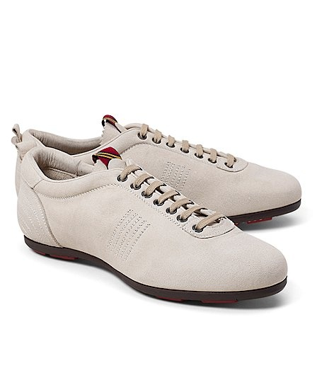 Pantofola d'Oro Suede Sneakers... if you must wear sneakers ; )
