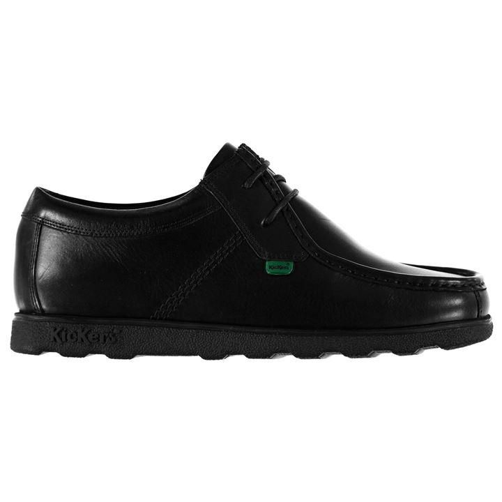 Kickers Fragma Lace Shoes Mens | Shoes, All black sneakers